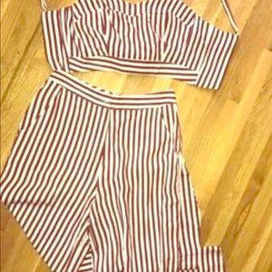 Monroe striped set